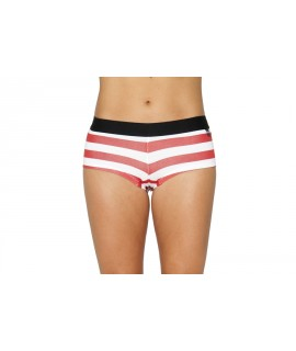 Her Undees Sports Boxer Stripes Red
