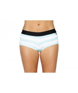 Her Undees Sports Boxer Stripes Light Blue